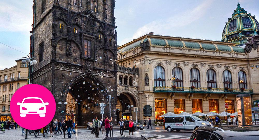 Driving Prague orientation