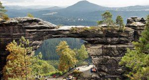 Czech national park Bohemian Saxony Switzerland
